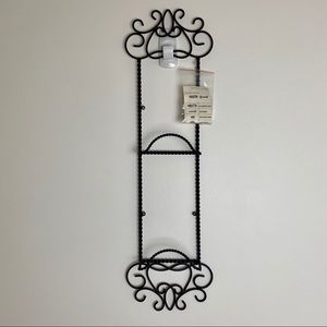 Southern Living Harrison Wrought Iron Plate Rack